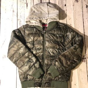 Justice Girls Camo Jacket